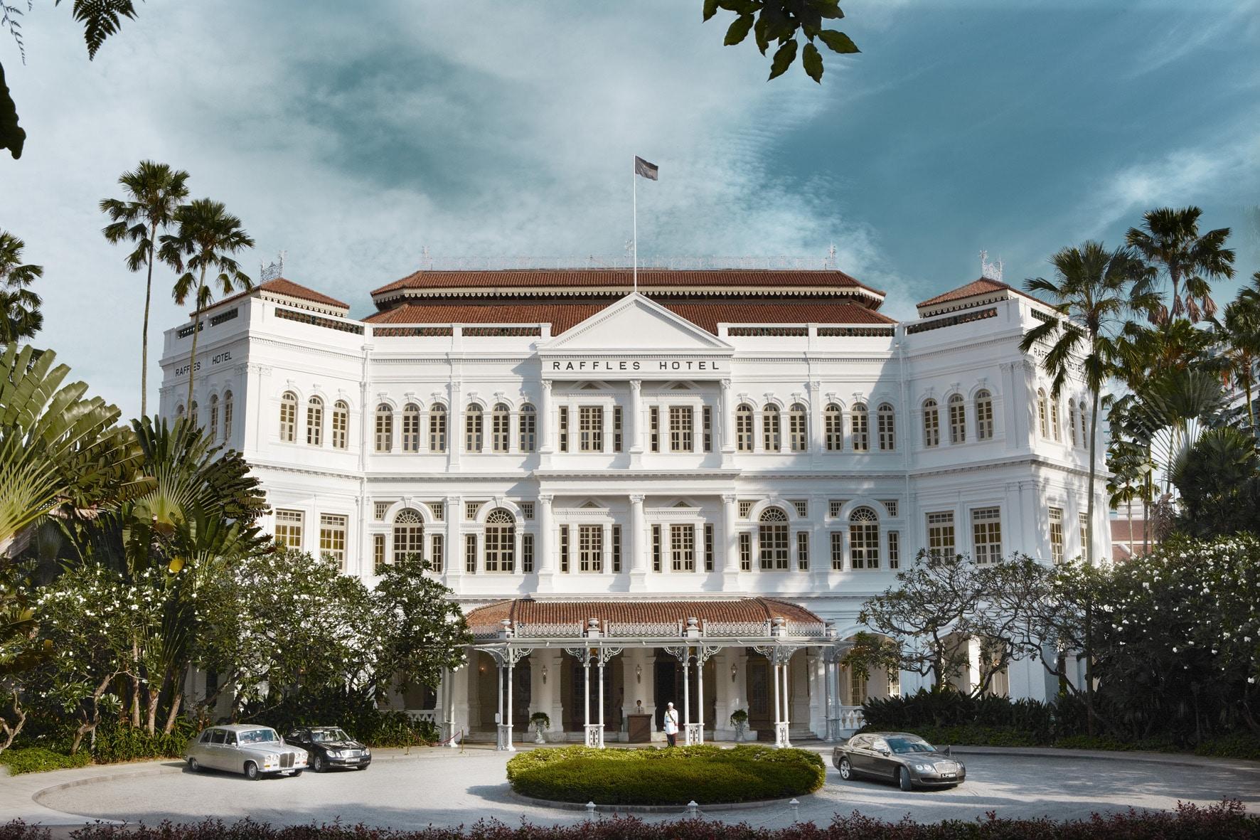 Raffles Hotel Singapore Hotel Facade 1